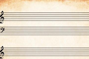 Folha de Pauta PIANO Folha de Pauta PIANO pauta piano 360x240