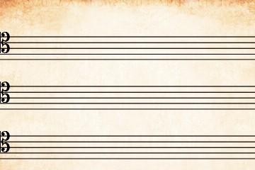 folha de pauta tenor Folha de pauta TENOR pauta tenor 360x240